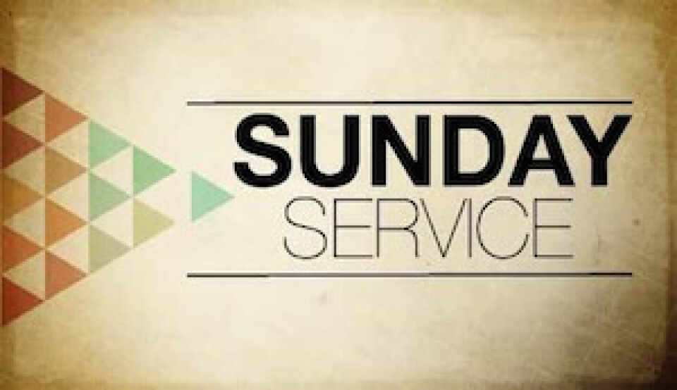 11 am Sunday Service